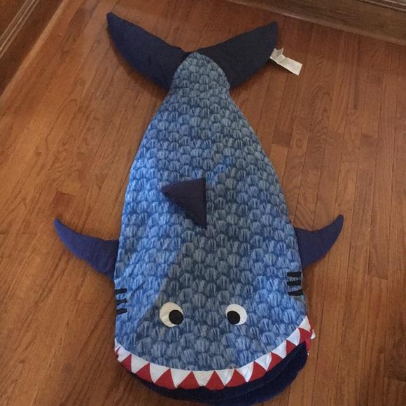 huge discount 3ee9a f046a Shark Sleeping Bag 🦈 22 x 59 soft terry cloth